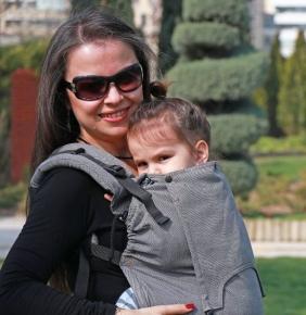 Mochila portabebé evolutiva Neko Switch Toddler Bold + dos capuchas