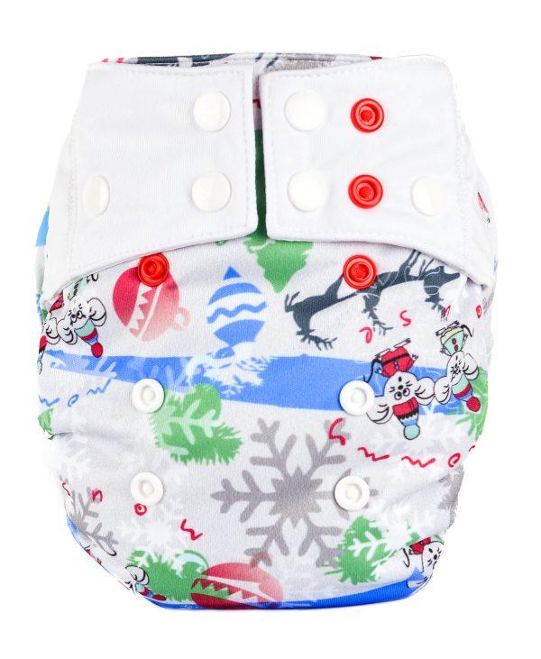 Cobertor Unitalla Mommy Mouse Winter Mouse
