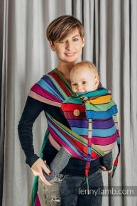 Mei tai LennyLamb Wrap-tai Toddler Carousel of Colors