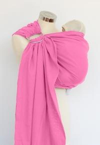 Bandolera de gasa Calin Bleu Rose Pink