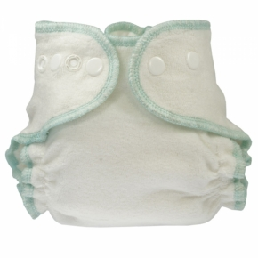 Pañal ajustado recién nacido de algodón orgánico Blümchen