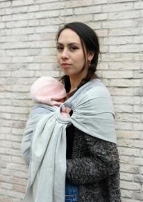 Bandolera Yaro Newborn Grey