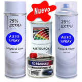 Kit Masilla + Primer + Color + Barniz