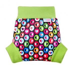 Cobertor Petit Lulu Pull-Up Colorful Hearts