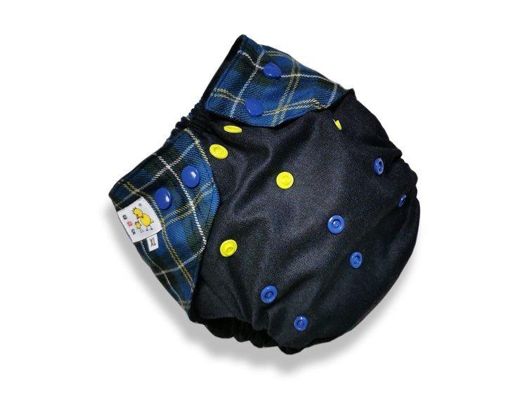 Cobertor de lana Kokosi XL azul oscuro