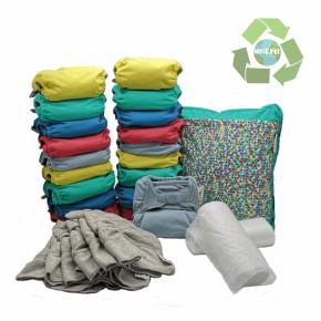 Pack de 20 pañales Pop-in V2 colores vivos 2020 con accesorios