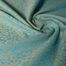 Fular DIDYMOS Talla 6 - 100% algodón Orgánico - Leo Turquoise