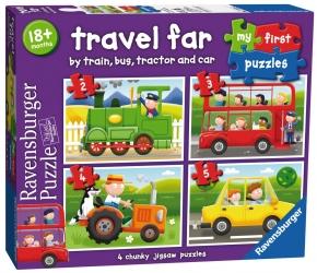 Mis primeros puzles: medios de transporte