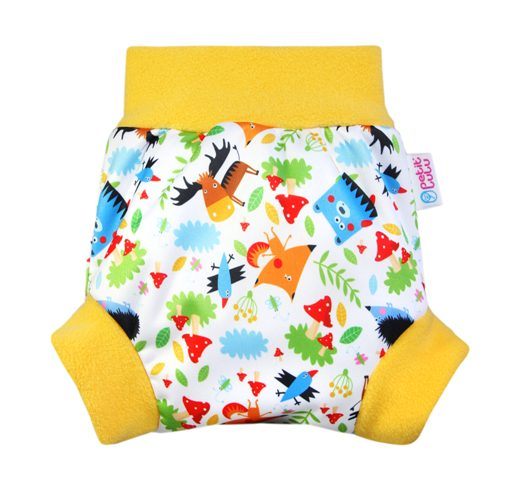 Cobertor Petit Lulu Pull-Up Crazy Animals
