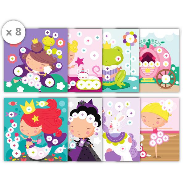 Caja de gomets Princess