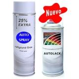 Kit Pintura Coche Spray Primer + Color