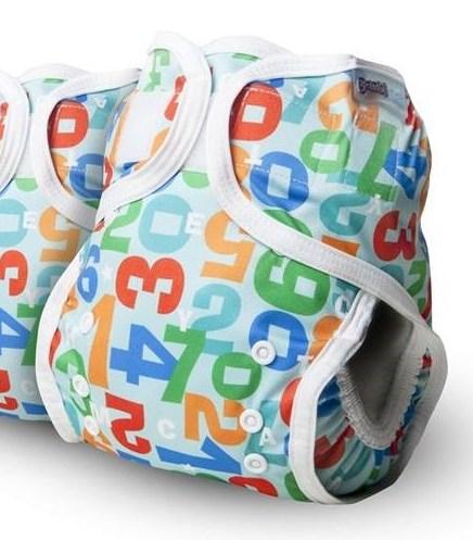 Cobertor unitalla Bambinex Números