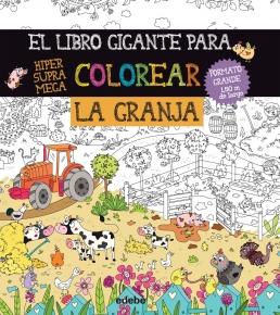 El libro gigante para colorear la granja