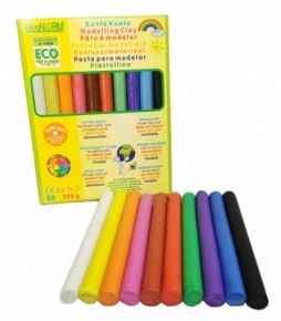 Plastilina natural 10 colores Ökonorm (220 gramos)