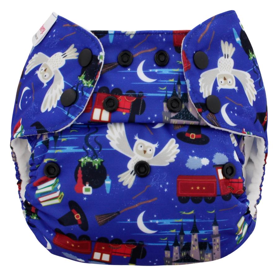 Pañal rellenable unitalla Blueberry Spellbound (sólo cobertor)