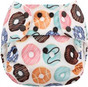 Pañal rellenable unitalla Blueberry Donuts (sólo cobertor)