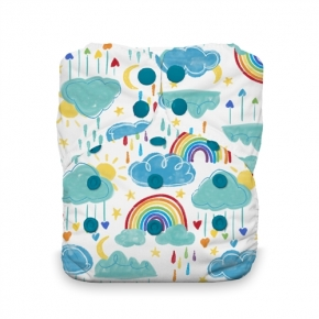 Pañal Thirsties todo en uno Stay Dry Natural Rainbow