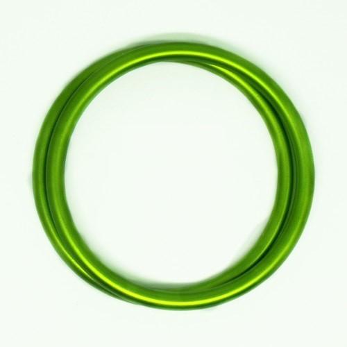 Anillas de aluminio verde lima