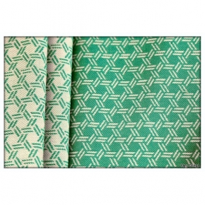 Bandolera Yaro Basket Emerald