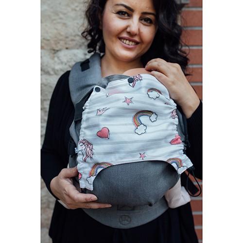 Mochila portabebé evolutiva Neko Switch Baby Bold + dos capuchas