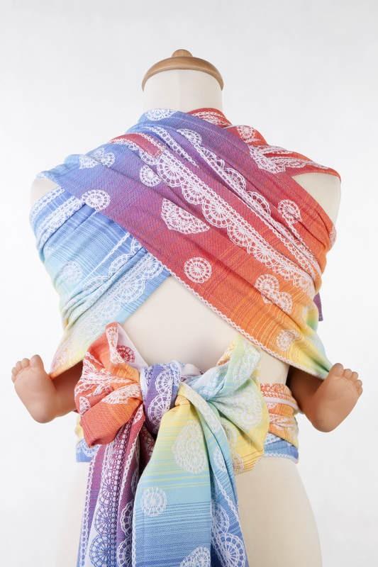 Mei tai LennyLamb Wrap-tai Toddler Rainbow Lace