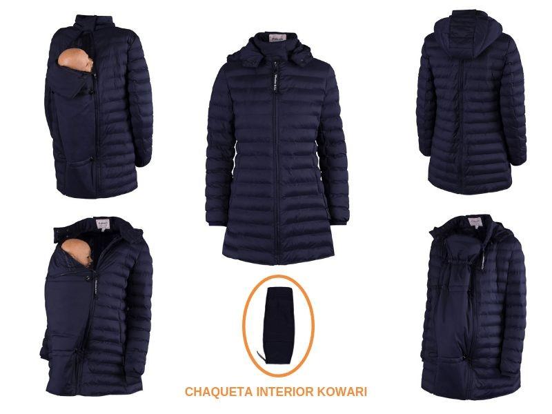 Abrigo de porteo y embarazo Kowari