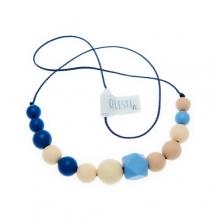 Collar de maternidad de silicona CELESTE XL