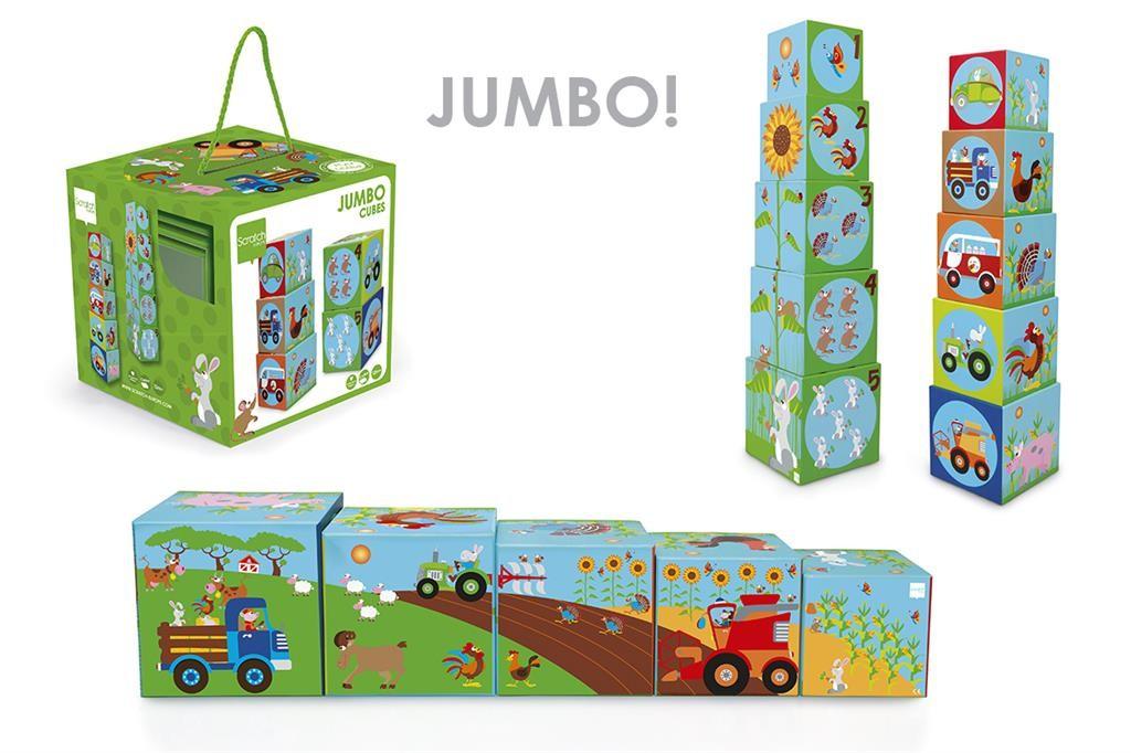 Cubos apilables Jumbo