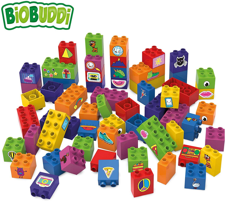 Bloques de construcción Biobuddi 60 piezas