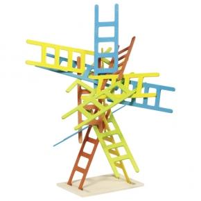 Juego de equilibrio de escaleras