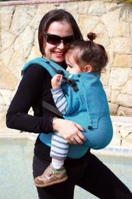 Mochila portabebé evolutiva Neko Switch Toddler Basic Ocean Rise