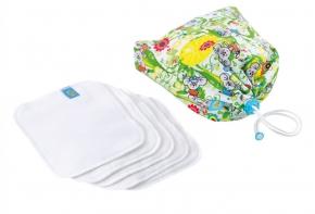 Pack de 5 toallitas con bolsa Mommy Mouse