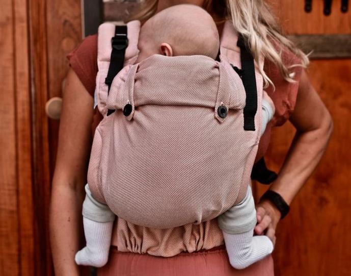 Mochila ergonómica evolutiva Pure Baby Love Click & Go Baby Rust