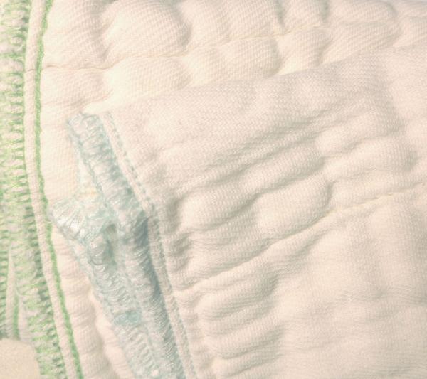 Pack de 6 predoblados algodón orgánico Blümchen Talla S