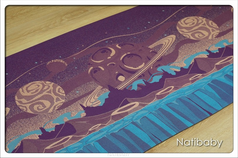 Fular Natibaby Purple Planets