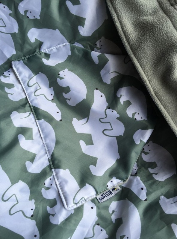 Cobertor de porteo BundleBean Bear