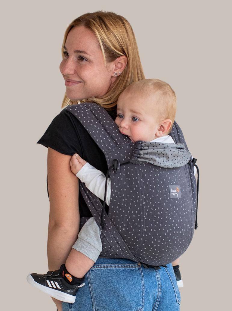 Meichila portabebé evolutiva Love & Carry LoveTie Granite