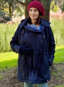 Abrigo de porteo y embarazo Wallaby 2.0 Azul Marino