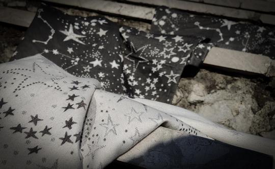 Fular tejido LOVALOOM PASSIÓN Astra Dark Night T6