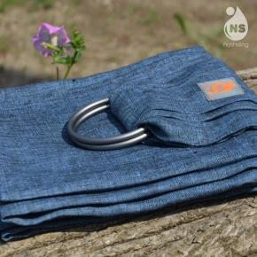 Bandolera 100% lino Nashsling Jeans