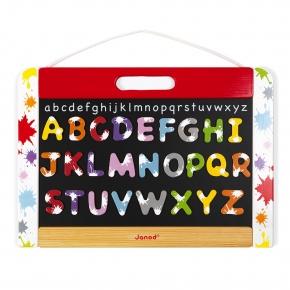 Pizarra de pared abecedario