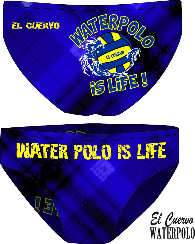 SL WATERPOLO IS LIFE BLUE
