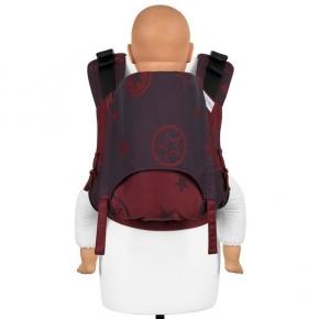 Mochila Fidella Fusion Toddler 2.0 Outer Space rojo oscuro