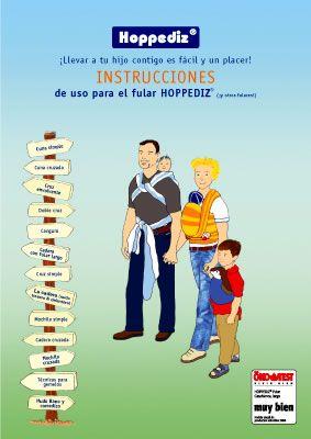 Libro de instrucciones para el uso del fular (Hoppediz)