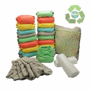 Pack de 20 pañales Pop-in V2 colores pastel 2020 con accesorios