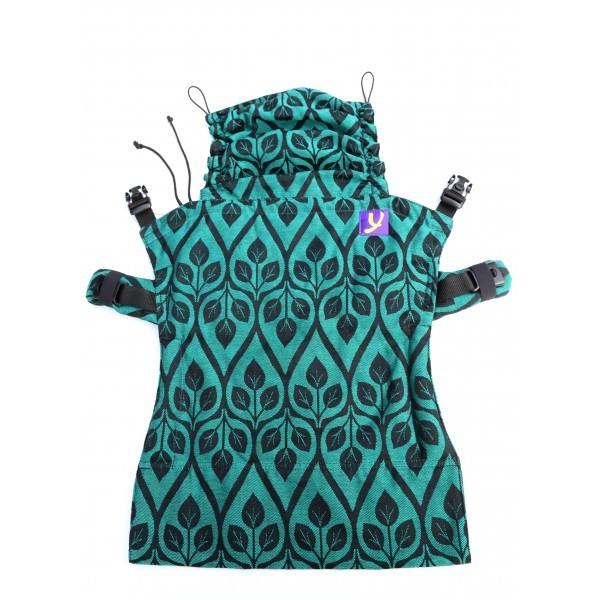Panel para mochila Yaro Flex La Vita Emerald Black