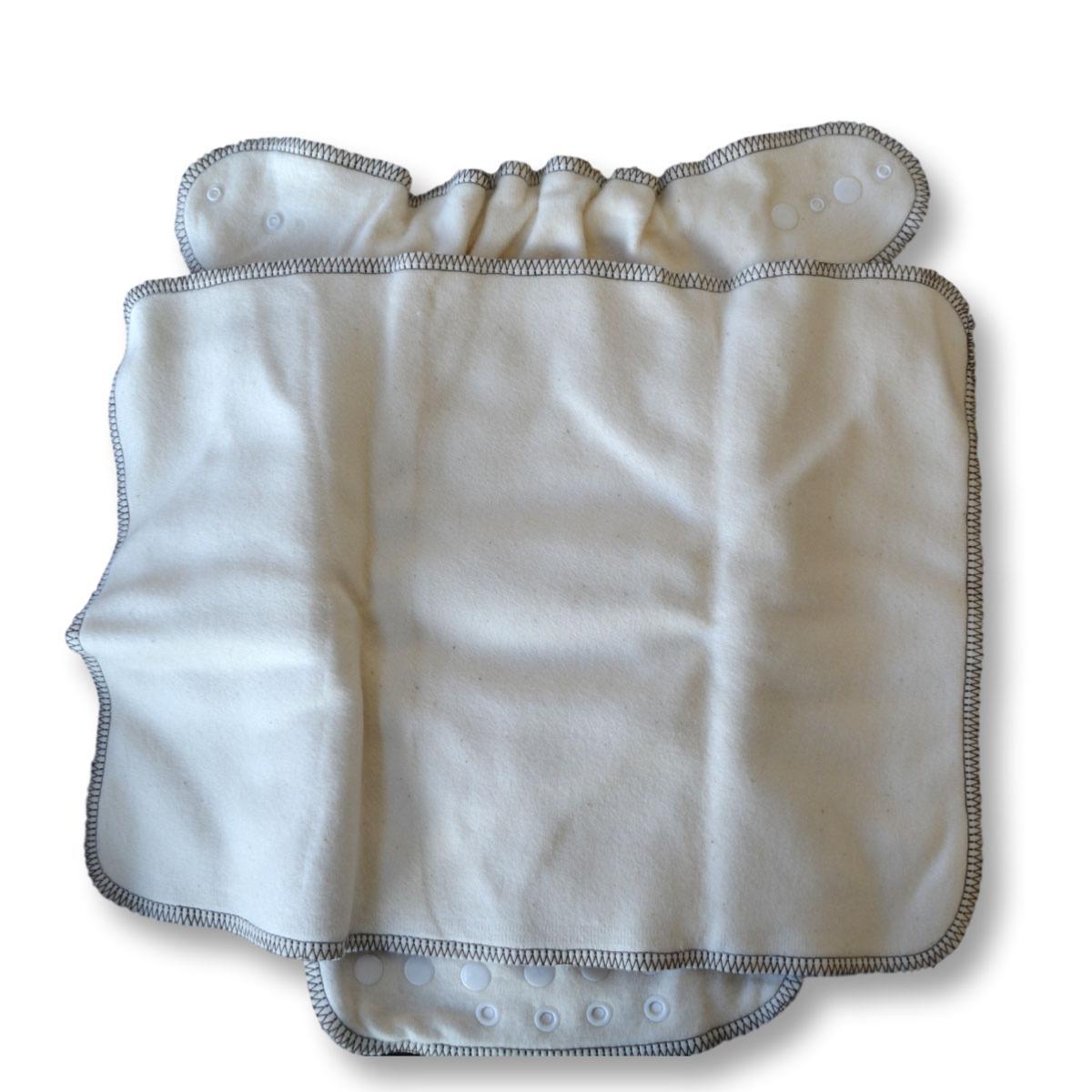 Pañal ajustado unitalla de algodón orgánico Lulu Nature