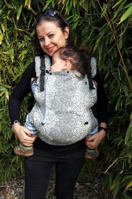 Mochila portabebé evolutiva Neko Switch Toddler Lokum Hazel