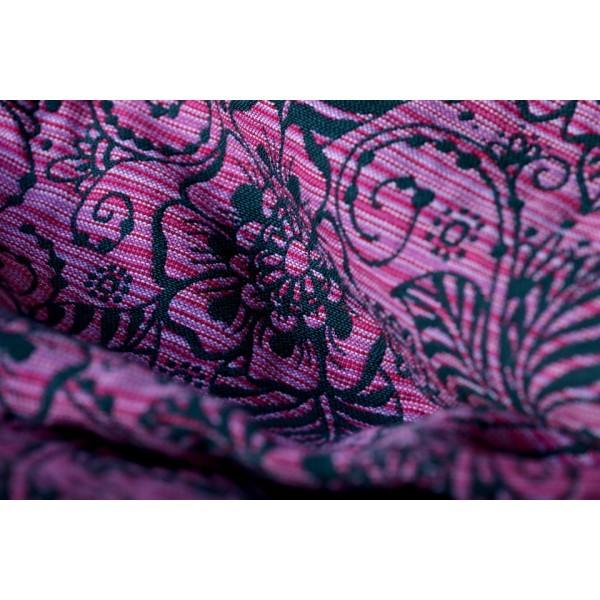 Bandolera Yaro Ava Contra Black Pink Random con lana