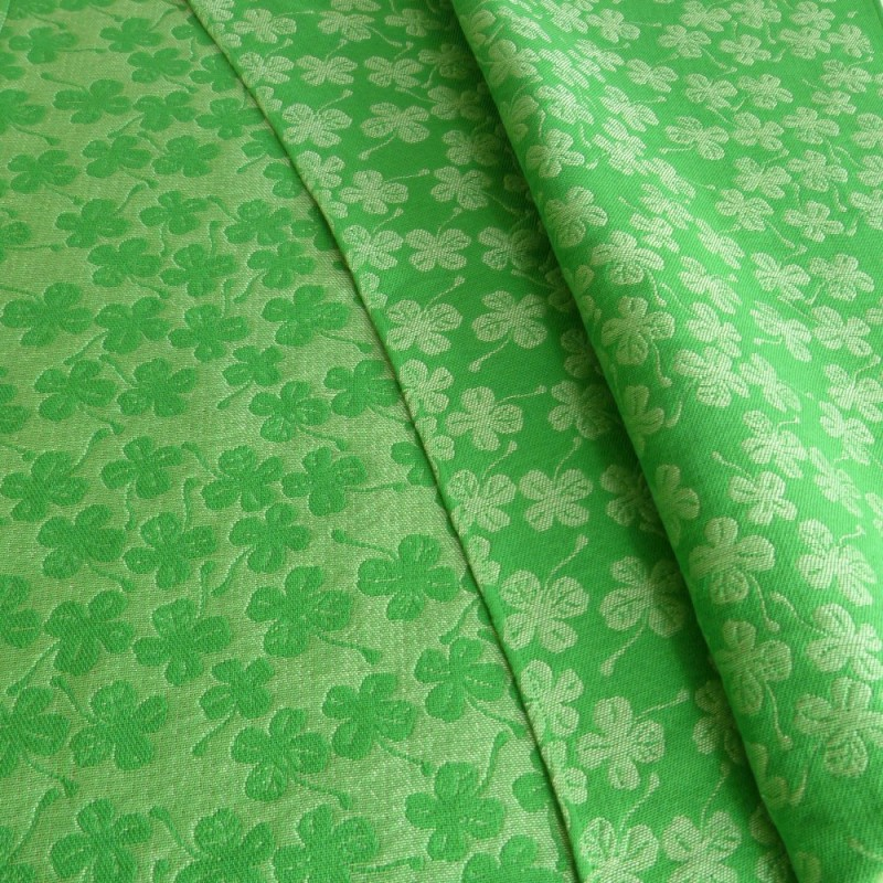 Fular DIDYMOS Talla 6 - 78% algodón Orgánico - 12% Cáñamo - 10 Seda -  Green Clover